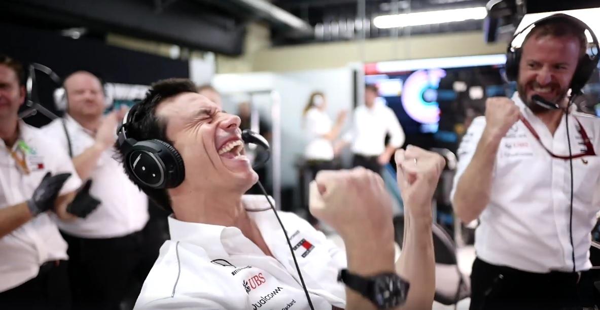 Toto Wolff Mercedes-AMG Petronas Motorsport