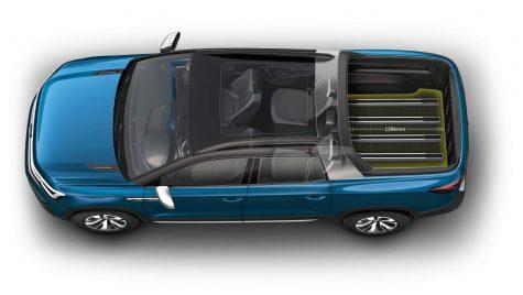 Conceptul Volkswagen Tarok – Un pick-up interzis românilor