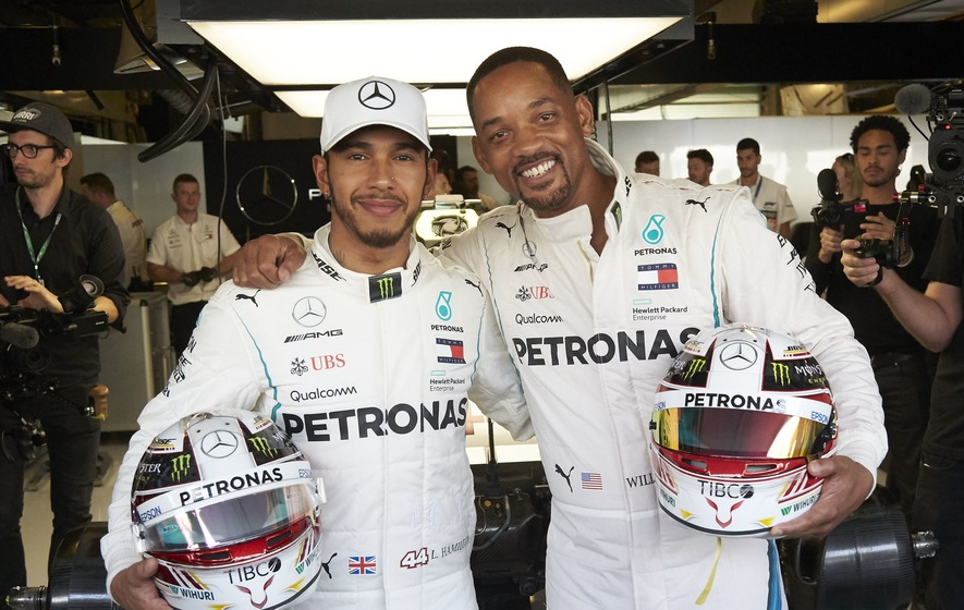Will Smith, Lewis Hamilton