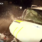 O mașină a luat zero stele la testele de siguranță. S-a făcut zob la impact!