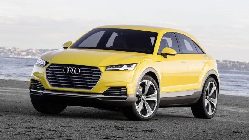 Audi Q4 - Audi TT off-road concept