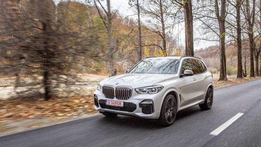 Test drive - BMW X5 M50d