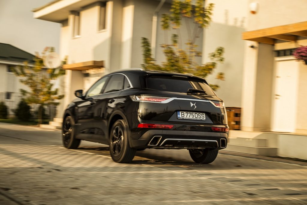 Test drive DS 7 Crossback