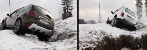 Dacia Duster versus Lada Niva