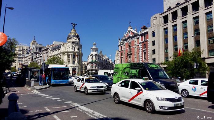 Madrid mașinile vechi