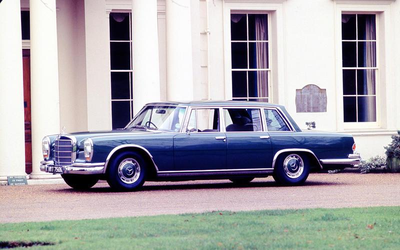 Mașini James Bond Mercedes-Benz 600 (On Her Majesty's Secret Service, 1969)