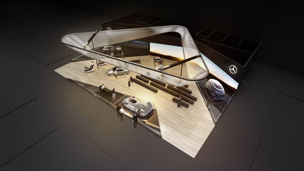 Mercedes-Benz CLA CES Las Vegas