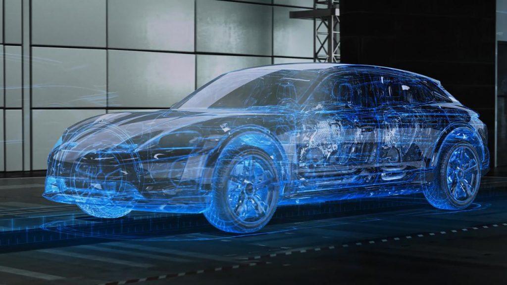 Porsche mașini virtuale Nurburgring (2)