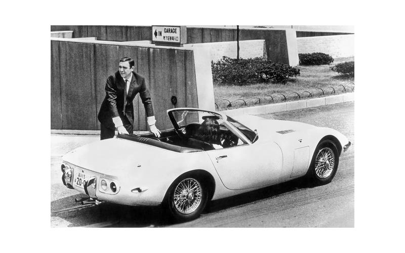 mașini James Bond Toyota 2000GT Convertible (You Only Live Twice, 1967)