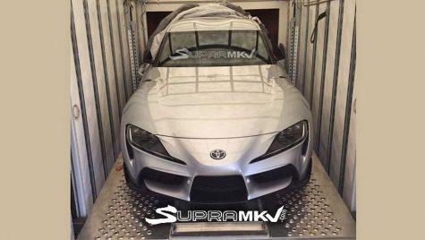 Prima fotografie cu noua Toyota Supra a apărut pe internet