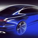 Viitorul Volkswagen Passat apare în primul teaser. Din față seamănă cu Touareg?