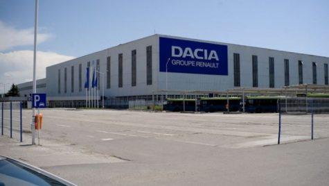 Dacia reia producția la Mioveni în două etape: 21 aprilie și 4 mai