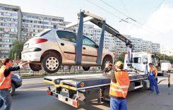 Se ridică mașinile parcate neregulamentar. Cât plătești să-ți recuperezi mașina