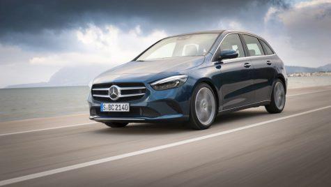 Test drive noul Mercedes B-Class: mai mult sport tourer decât van