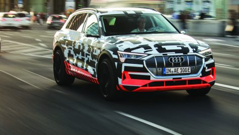 Strategia electrică Audi/Audi e-tron