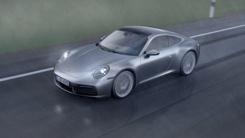 Wet Mode Porsche