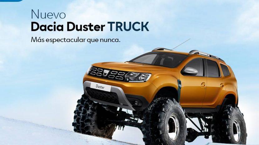 Noua Dacia Duster Truck - când intră în producție?