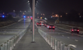 Autostrada Urbană, inaugurată înainte de Crăciun, a rămas în beznă