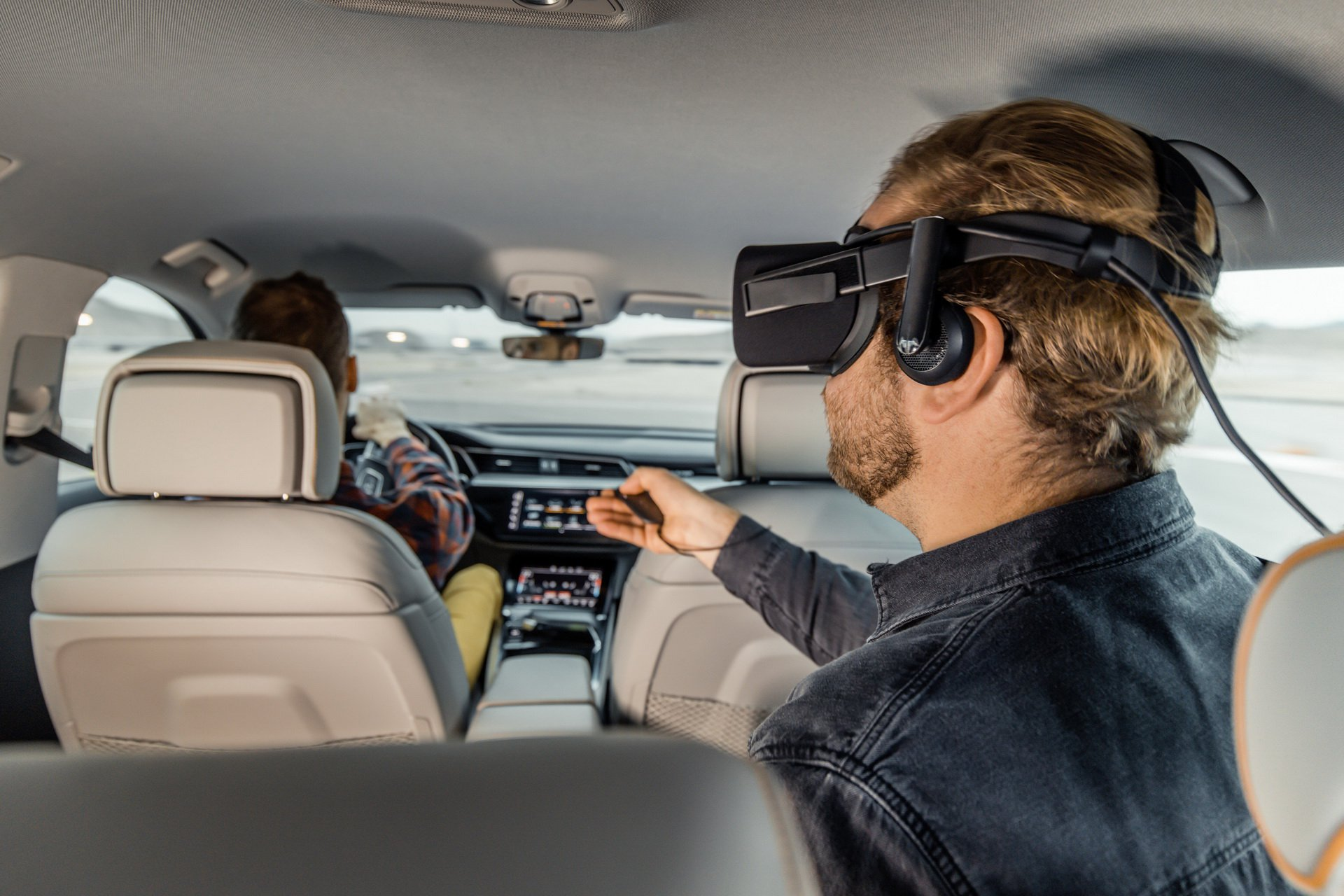 Audi realitate virtuală CES 2019 (2)