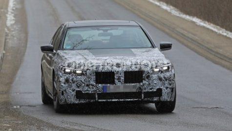 Teaser BMW Seria 7 facelift – Numărătoarea inversă a început