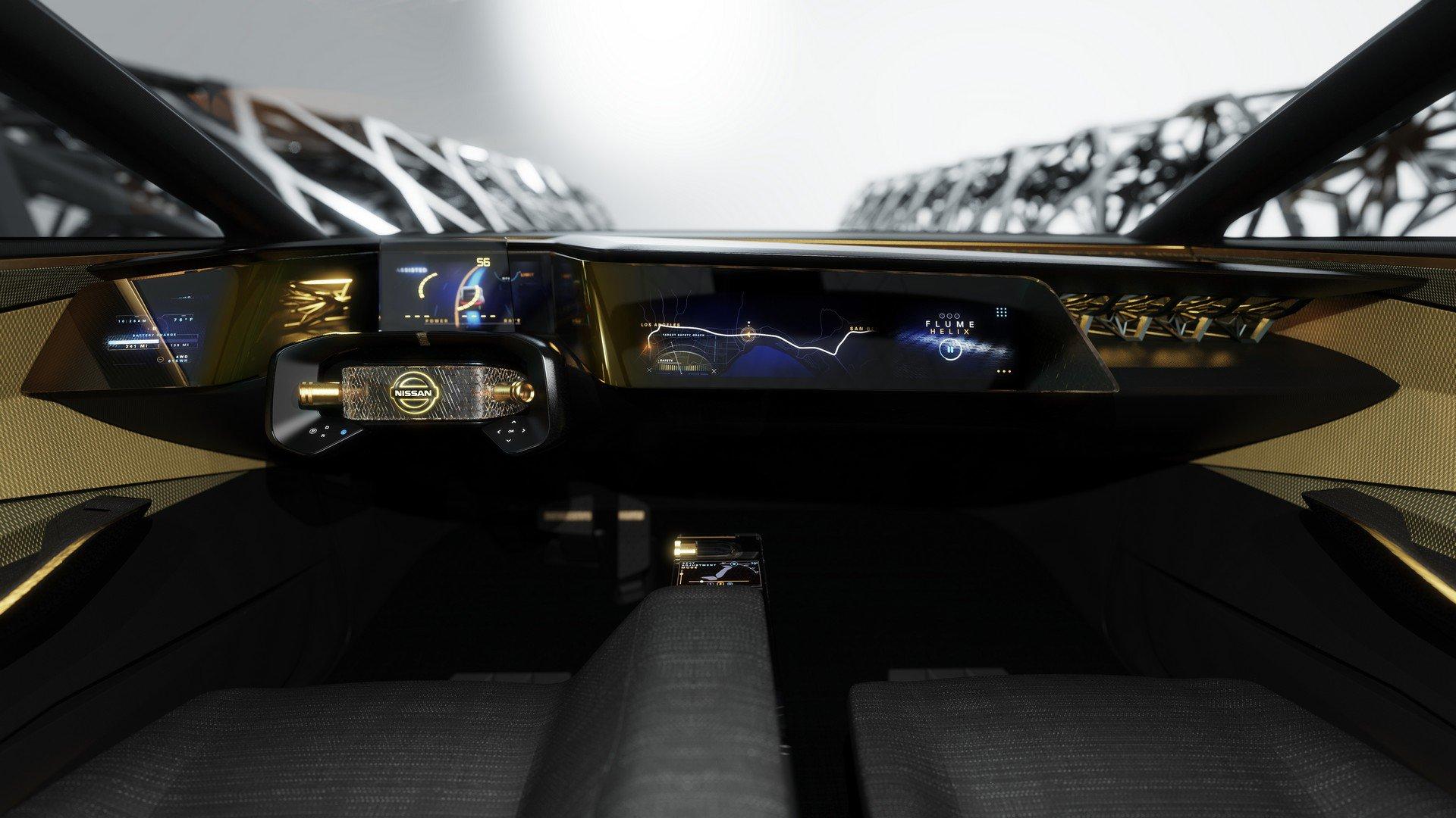 Detroit 2019. Conceptul Nissan IMs este limuzina-crossover (19)