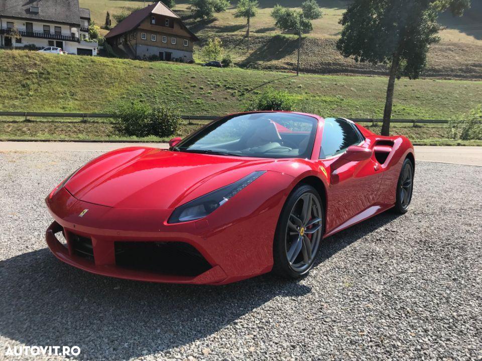 Ferrari 488 GTS Spider cele mai scumpe mașini din lume