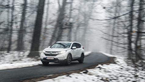Test drive –  Honda CR-V Hybrid 4WD