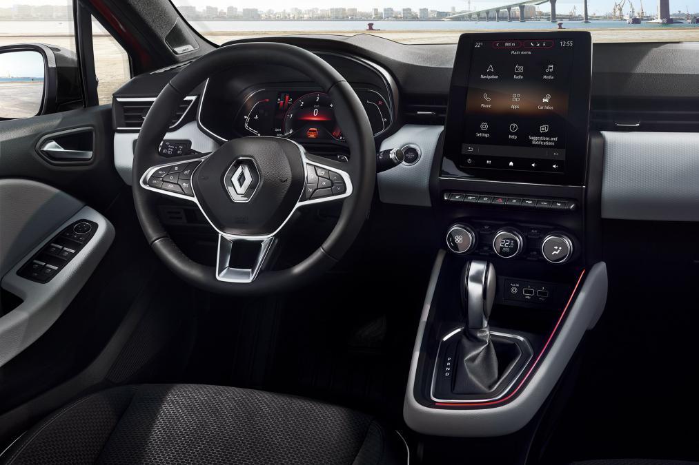 Interior noul Renault Clio (3)