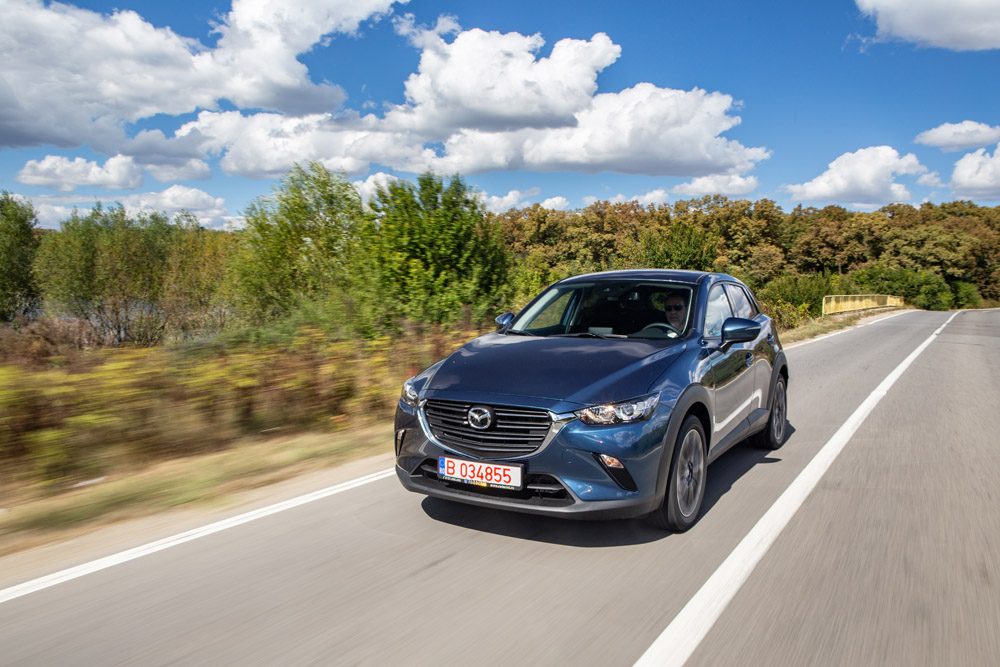 Test drive - Mazda CX-3 Takumi G121 MT6 4x2 facelift