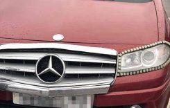Un Mercedes nou-nouț a făcut senzație în parcarea unui hypermarket. Nici 2.000 de euro nu costă!