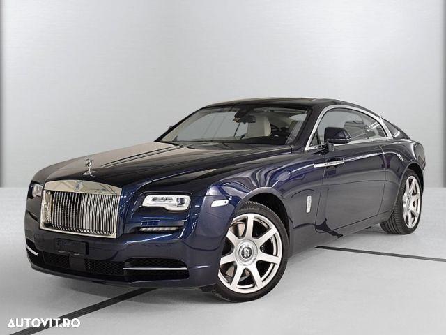 Rolls-Royce Wraith cele mai scumpe mașini