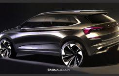 Skoda Kamiq – primele schițe oficiale. Cum va arăta noul SUV ceh?