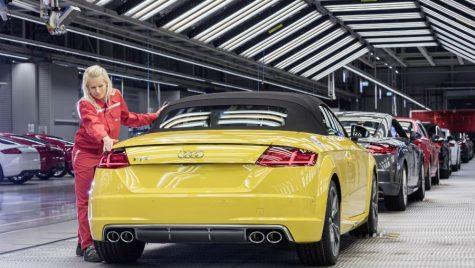 Grevă la uzina Audi. Cum va fi afectată producția?