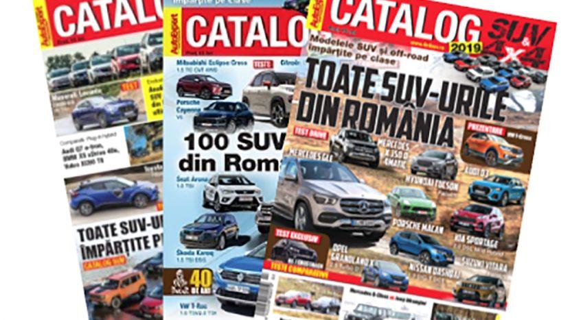 Catalogul SUV ediția 2019 este disponibil în rețelele de distribuție