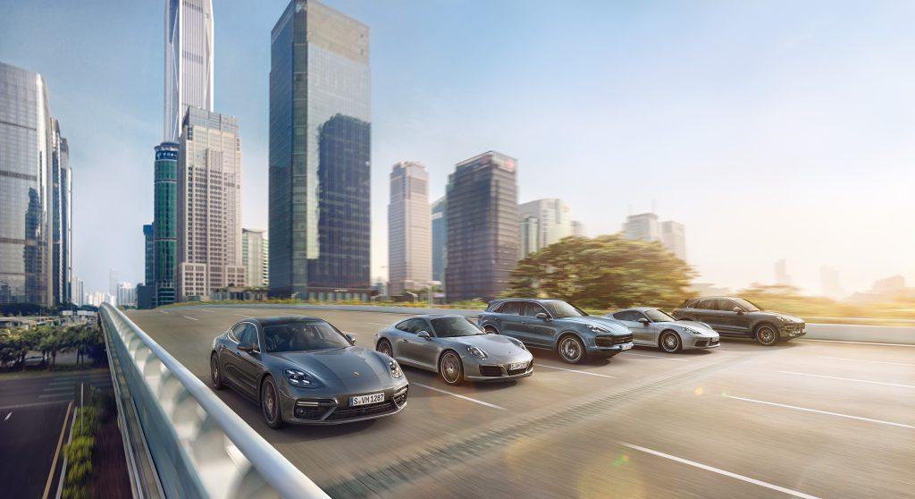 model Porsche