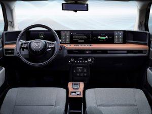 Honda E Prototype interior