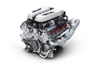 motor Audi R8 V10 2009