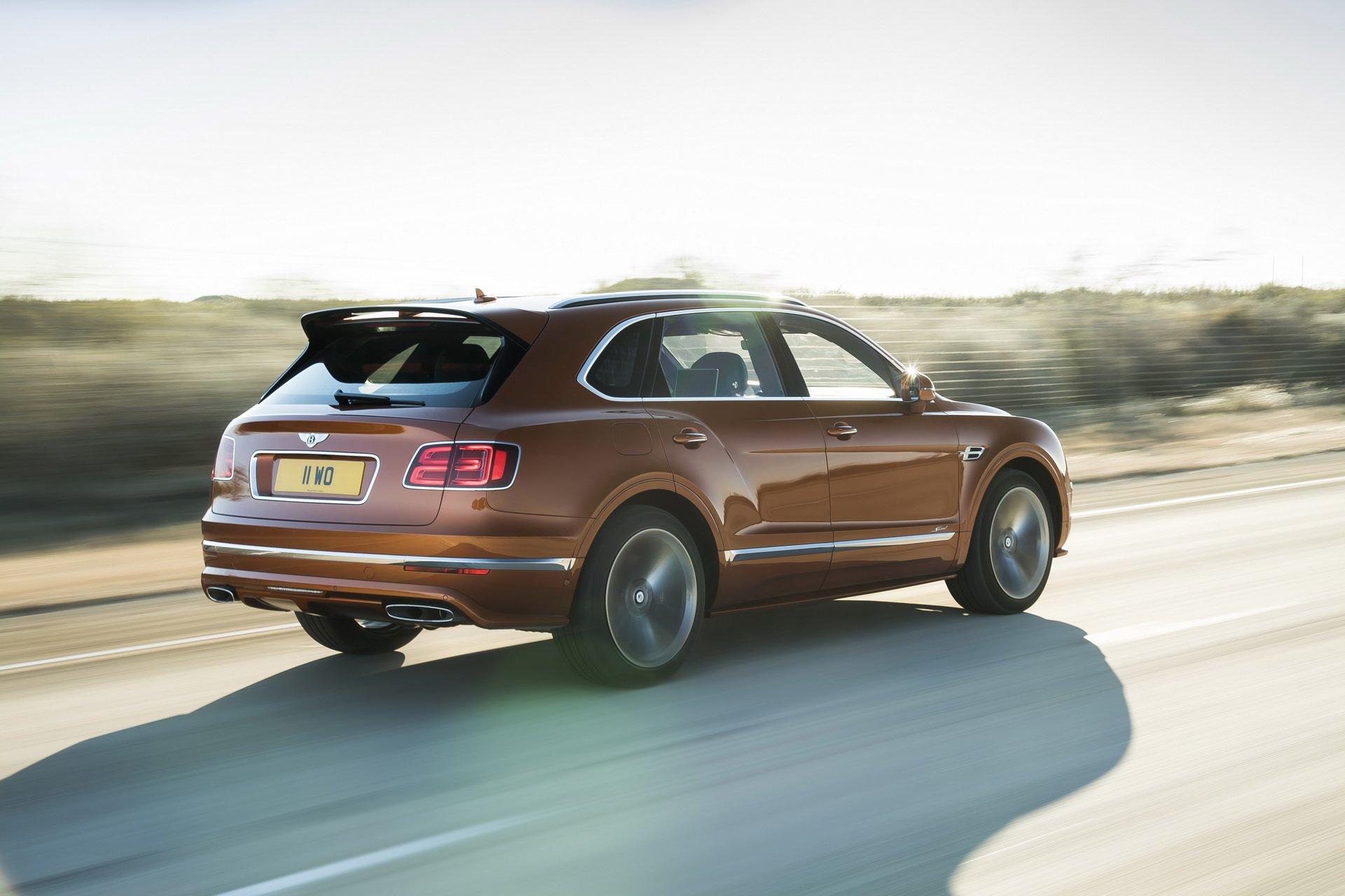 Bentley Bentayga Speed - Cel mai rapid SUV din lume