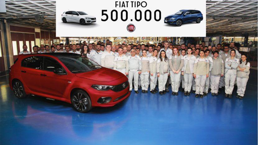 Fiat Tipo atinge pragul de 500.000 de unități produse