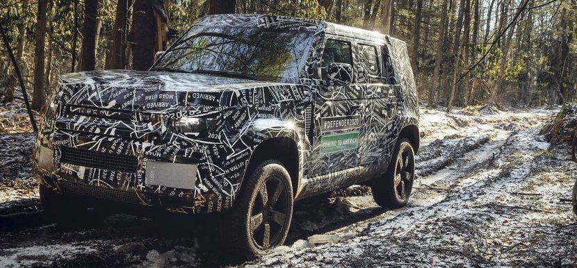 Land Rover Defender interior 2