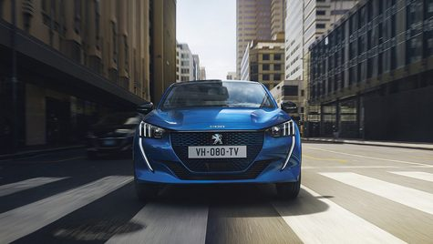 Noul Peugeot 208 a ajuns pe internet înaintea prezentării oficiale