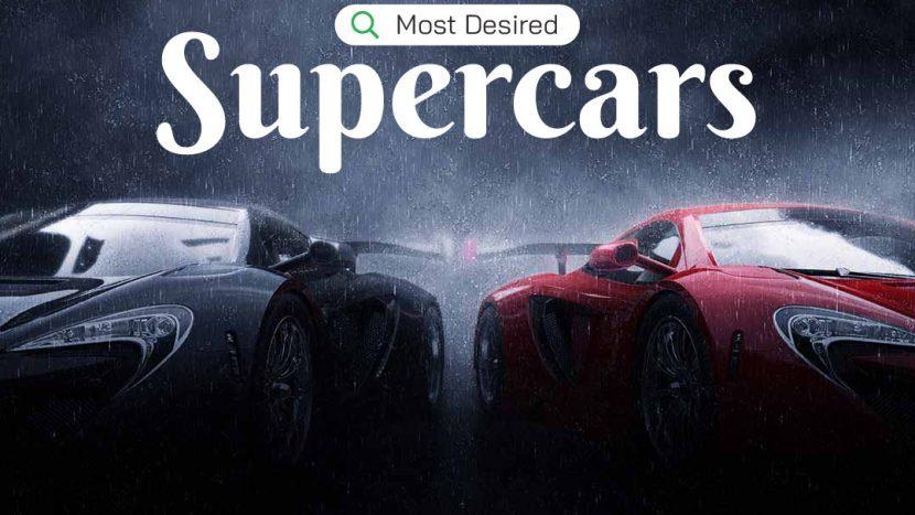 cele mai căutate supercaruri