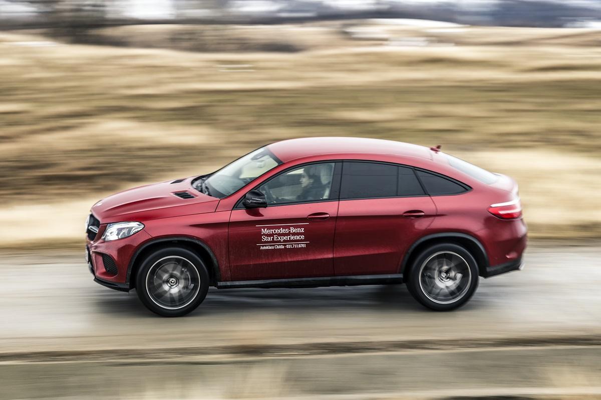 Test drive Mercedes-Benz GLE 350 d 4MATIC Coupé (3)
