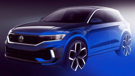 Volkswagen T-Roc R – Prima schiță. Ce putere va avea super SUV-ul?