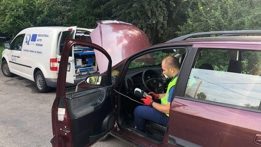 Dintr-un parc auto de peste 7,6 mil RAR a identificat anul trecut doar 3500 de mașini cu probleme