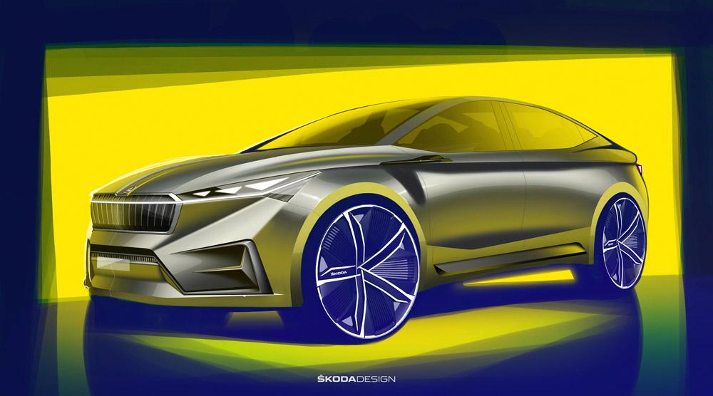 Skoda Vision iV debutează la Salonul Auto de la Geneva
