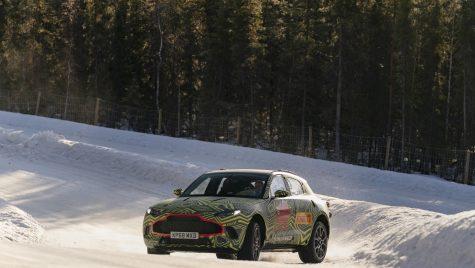 Teaser video – Când va fi dezvăluit Aston Martin DBX?