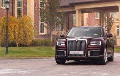 Geneva 2019 – Aurus Senat, limuzina lui Putin, expusă la Salonul Auto