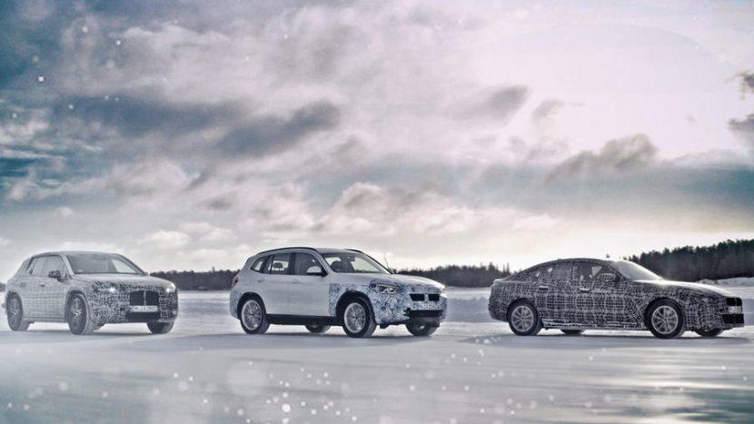 BMW iNext, BMW i4, BMW iX3 (1)