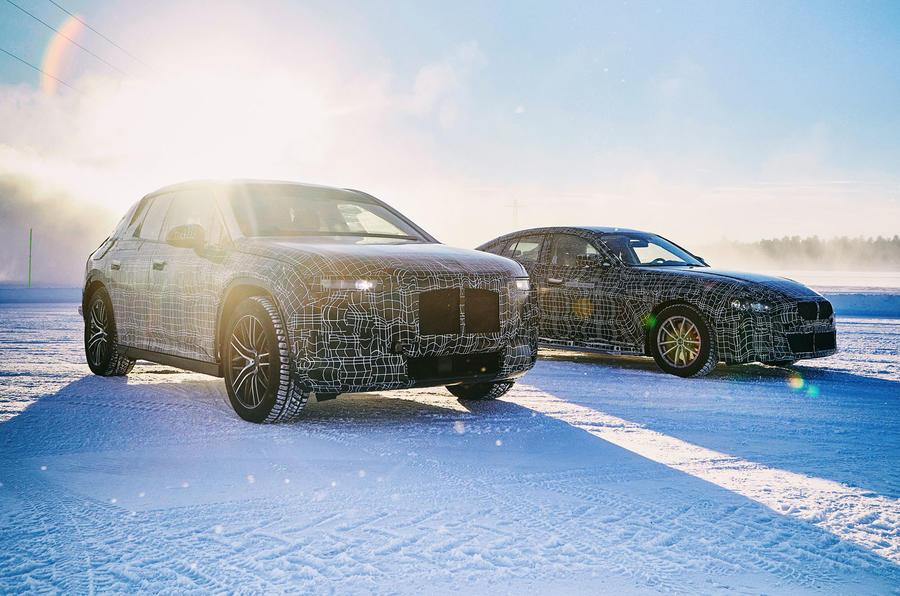 BMW iNext, BMW i4, BMW iX3 (3)